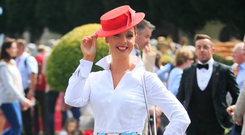 Aoibheann McMonagle from Donegal during Ladies Day sponspred by Dundrum Town Centre at the RDS Horseshow in Ballsbridge, Dublin. Photo: Gareth Chaney Collins