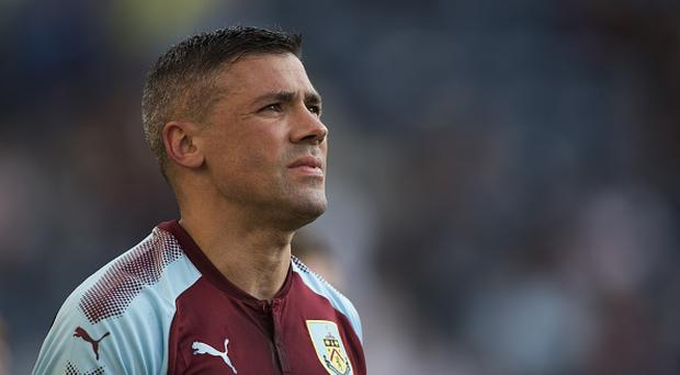 Jonathan Walters of Burnley looks on during the pre season friendly match between Preston North End and Burnley at Deepdale on July 25, 2017 in Preston, England. (Photo by Nathan Stirk/Getty Images)