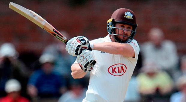 Mark Stoneman in action for his club Surrey. Photo: Harry Trump/Getty Images