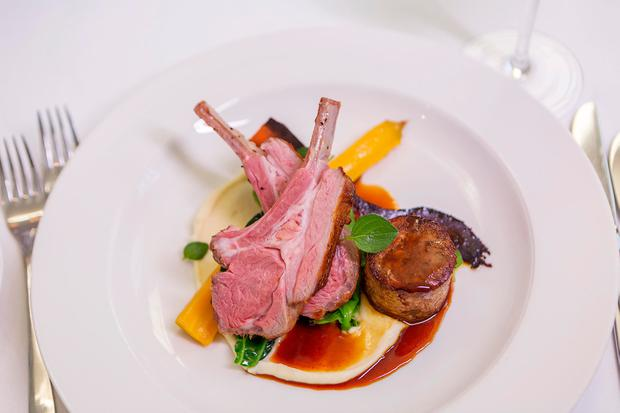 A Comeragh Mountain Lamb dish served at The Tannery Restaurant in Dungarvan