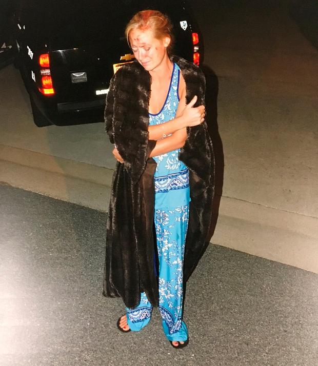 Molly Martens pictured in her pyjamas after the killing of her husband Jason Corbett