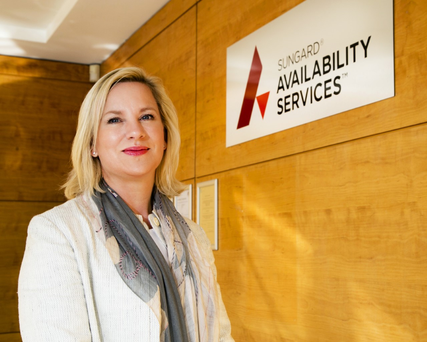 Carmel Owens, General Manager of Sungard Availability Services Ireland