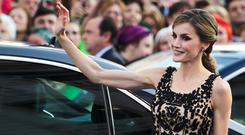 Queen Letizia of Spain attends the Princesa de Asturias Awards 2016 ceremony at the Campoamor Theater on October 21, 2016 in Oviedo, Spain. (Photo by Carlos Alvarez/Getty Images)