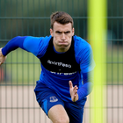 Seamus Coleman has been training again at Everton's training ground