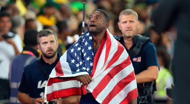 Justin Gatlin denies latest doping allegations, fires coach