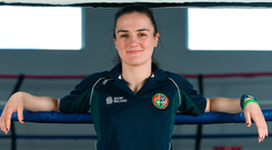 Kellie Harrington will meet Finland's Mira Potkonen, who beat Katie Taylor in Rio, for gold today. Photo: Eóin Noonan/Sportsfile