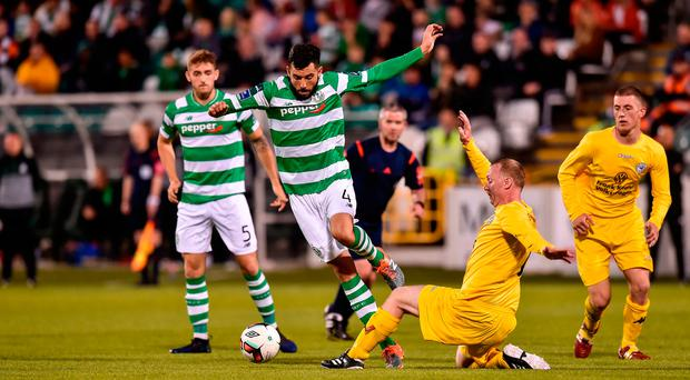 FAI Cup round-up: Heroic Glenville push Shamrock Rovers all the way while Crumlin take League of Ireland scalp