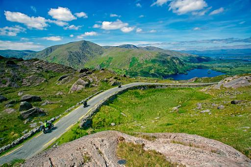 The iconic views along the Wild Atlantic Way, which has made it into a book of the top drives in the world alongside Route 66 in America and the Ho Chi Minh Road in Vietnam