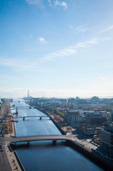 A recent EY report ranked Dublin as the number one destination for UK-based financial services companies relocating after Brexit. Stock photo