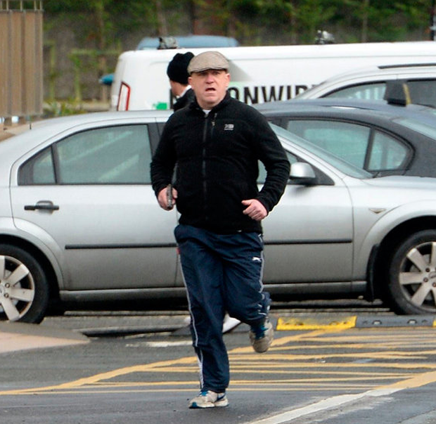 SUSPECT: Kevin 'Flat Cap' Murray was buried yesterday. Picture: Sunday World
