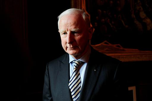 FACING DOCK: Pat Hickey must have seemed like a genius to his OCI colleagues when the first deal was signed