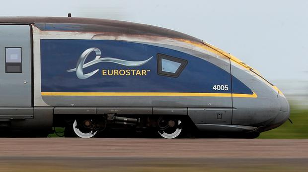 File photo dated 10/08/17 of a Eurostar train, as a Eurostar passenger reportedly sparked a bomb scare at a French station after trying to board the train with a