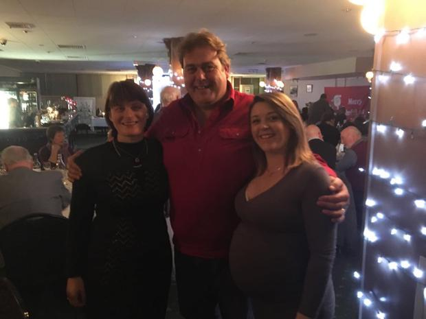 Denise Flanagan,Paddy Farrelly and Ashley Quigley at the Link Irish event in Melbourne recently. All three are from Kells.