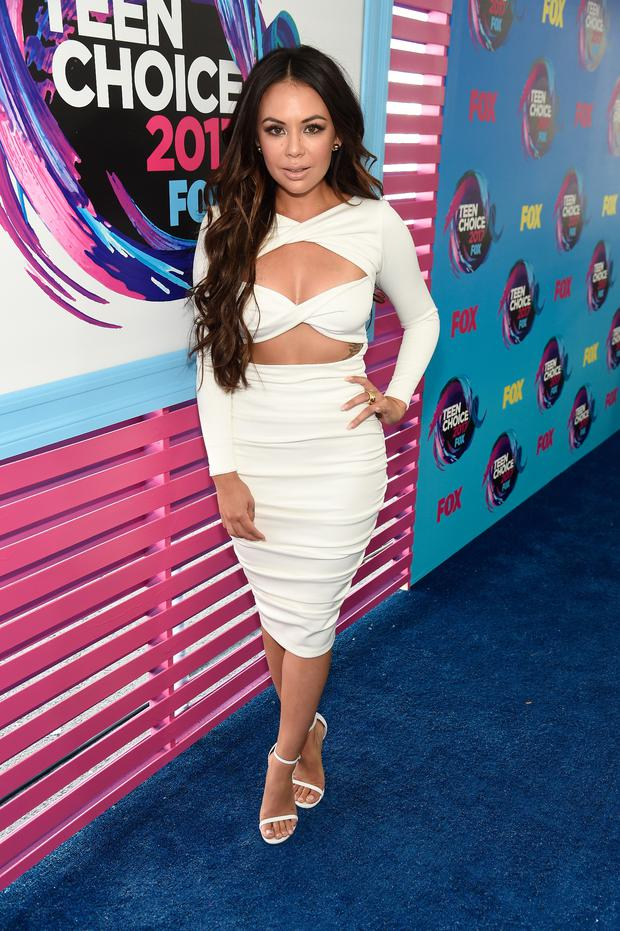958fbdfcce Janel Parrish attends the Teen Choice Awards 2017 at Galen Center on August  13, 2017 in Los Angeles, California. (Photo by Kevin Mazur/Getty Images)