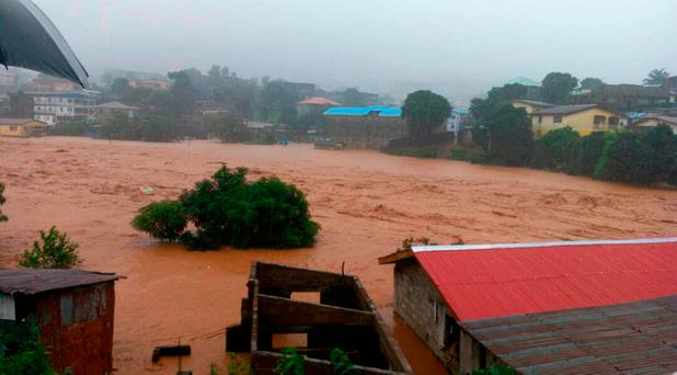 Sierra Leone: At least 300 killed in tragic mudslide, many still missing