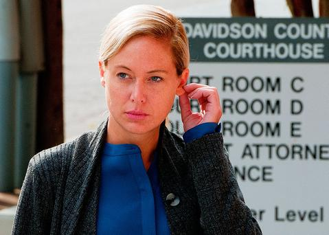 Guilty: Molly Martens-Corbett. Photo: Donnie Roberts/The Dispatch