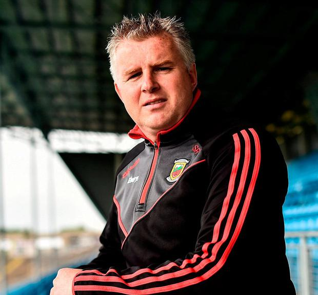 Mayo manager Stephen Rochford. Photo by David Maher/Sportsfile