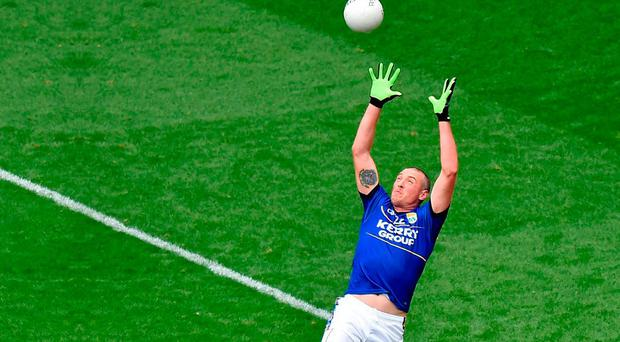 Kerry's Kieran Donaghy ruled the skies against Mayo three years ago. Photo: Pat Murphy / Sportsfile