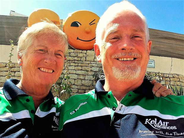 John and Mary Keenan – retired bankers who went to work on a summer camp in France