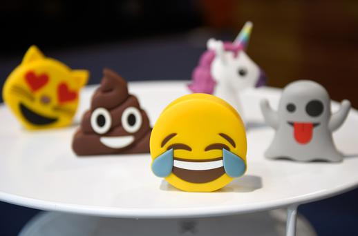 Emojis are used six billion times a day and have been described as the fastest growing language in history. Photo: GETTY