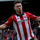Scott Hogan has been called up to the Ireland squad for the final two World Cup qualifiers
