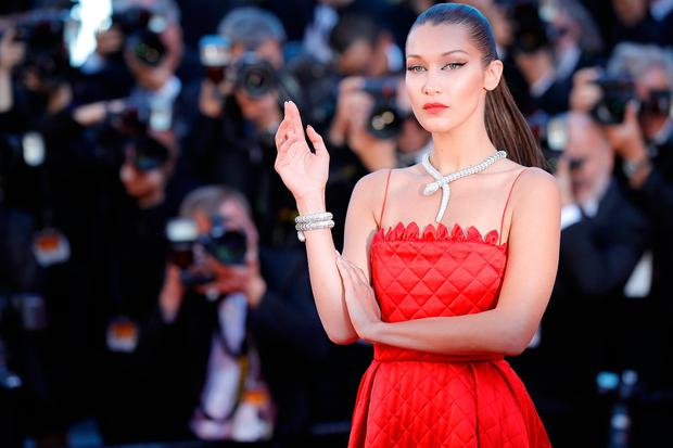 Bella Hadid attends the