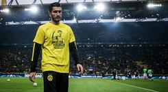 Nuri Sahin of Dortmund is seen prior the UEFA Champions League Quarter Final first leg match between Borussia Dortmund and AS Monaco at Signal Iduna Park on April 12, 2017 in Dortmund, Germany. (Photo by Maja Hitij/Bongarts/Getty Images)