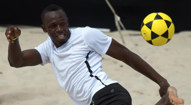 Usain Bolt set to realise Manchester United dream
