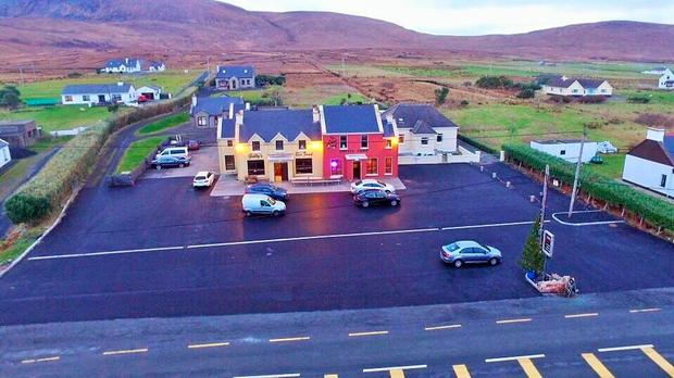 Pic: Gielty's pub, Achill