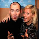 Denise Van Outen and Johnny Vaughan. Photo: Joel Ryan/PA Wire