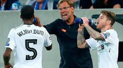 Klopp guided Liverpool to a valuable Champions League win in Germany