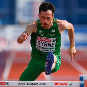 Paul Byrne ran a personal best last month. Photo by Brendan Moran/Sportsfile