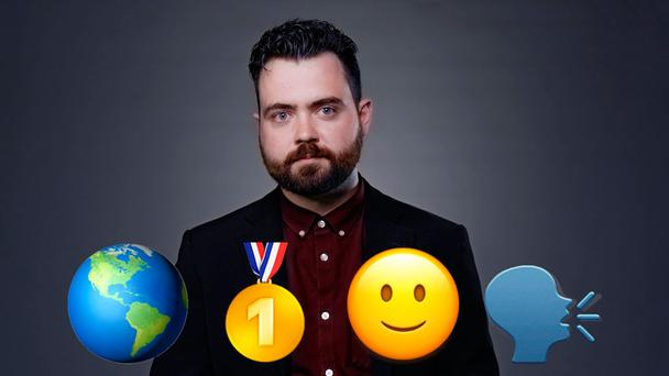 Sign language: Emoji translator Keith Broni says emojis should be taken seriously as a form of communication