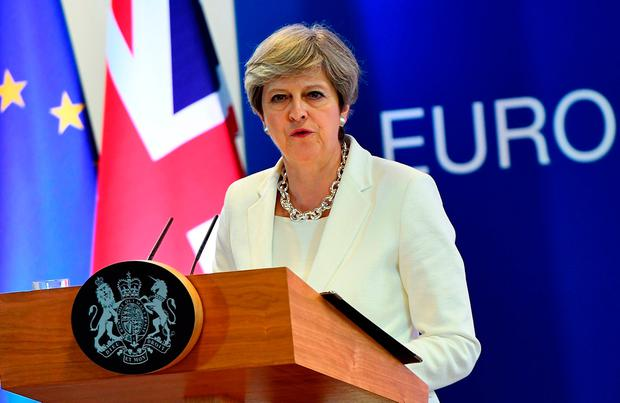 British Prime Minister Theresa May. Picture: Getty