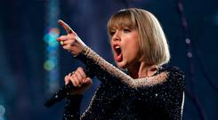 In keeping with Taylor Swift's request, the jurors awarded her $1. Picture: Reuters