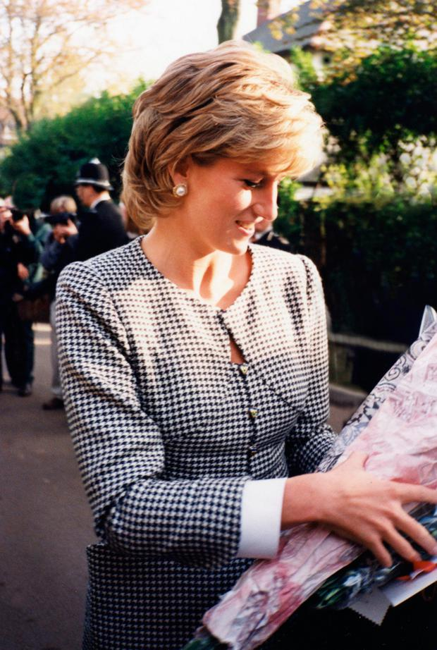 A selection of photographs of Princess Diana taken by Ms Dunican. Photo: Michelle Rogers Dunican