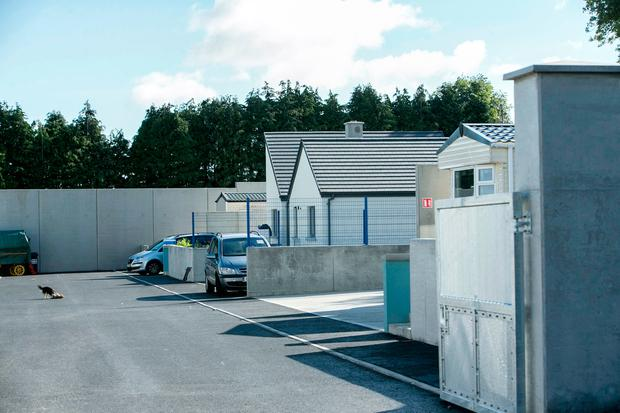 The newly renovated 'Tig Mo Chroi 'Halting site on the Glenamuck Rd, Carrickmines where the Gilbert and Connors and Lynch Family members Died in a tragic fire