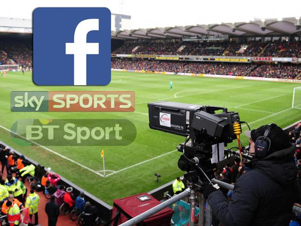 Facebook are expected to rival BT and Sky for Premier League TV rights in the next few years