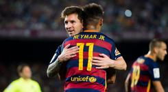 Some have suggested Neymar moved to PSG in order to step out from Lionel Messi's shadow. Getty Images