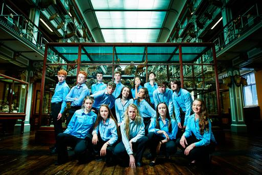 Sweet 16: the members of the National Youth Theatre