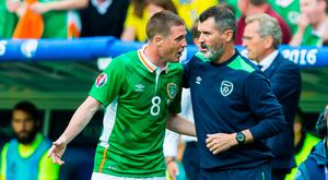Roy Keane will be hoping that James McCarthy can re-establish himself in the Everton team in order to help Ireland's cause. Photo: GETTY