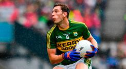 Kerry's David Moran in action during the SFC quarter-final. Photo: Ramsey Cardy/Sportsfile