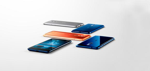 The Nokia 8 is the company's first new high-end smartphone. Stock picture