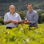 John O'Shea of O'Shea's Farms and Paul Scally, Aldi Ireland's Buying Director