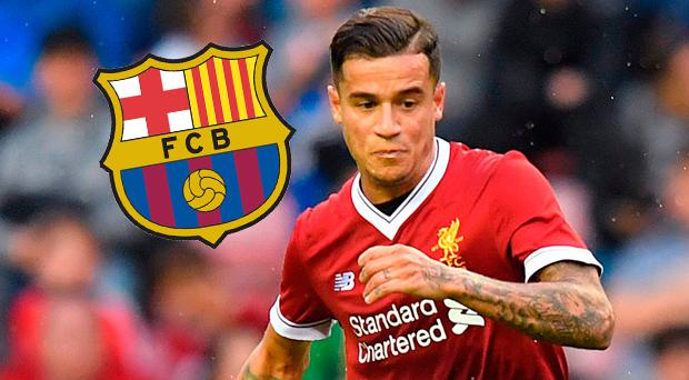 Philippe Coutinho pushing to secure a move to Barcelona