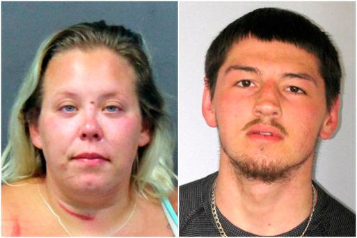 Adria Regn and Christopher White are charged with human trafficking and other crimes. Picture: NJ Attorney General's Office