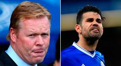Ronald Koeman would like to see Diego Costa at Goodison Park