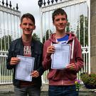 Twins Patrick and Cathal O'Brien from Clongowes Wood College