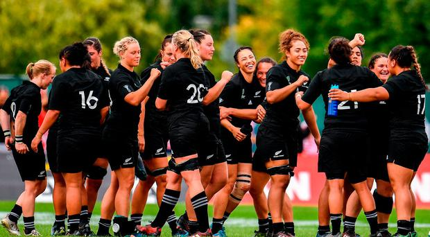 New Zealand are through to the last four