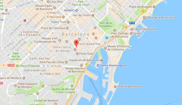 Van crashed into pedestrians in Barcelona, injuring several